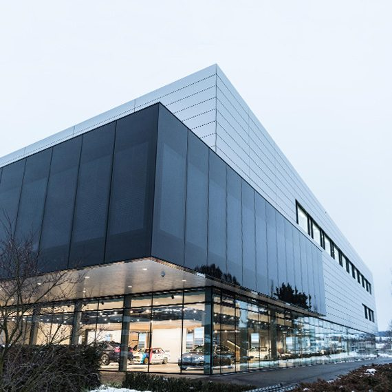 BMW Group Brand Experience Center<br> Dielsdorf